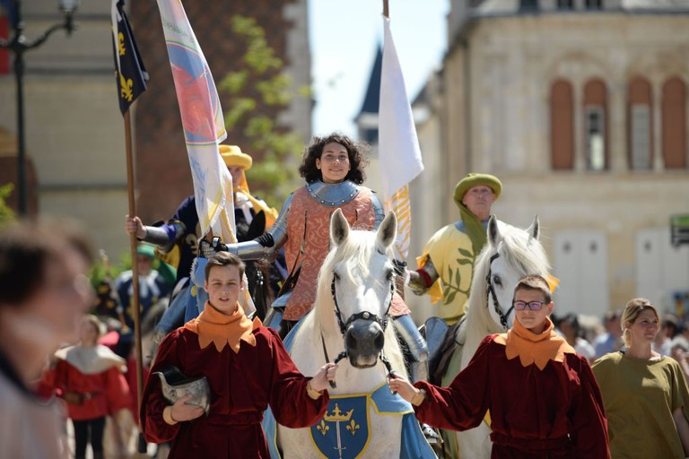 FRANCE-TRIBUTE-ORLEANS-JOAN-OF-ARC