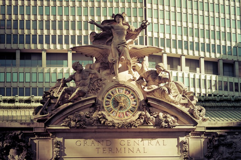 USA, New York, New York City, Manhattan, Grand Central Station