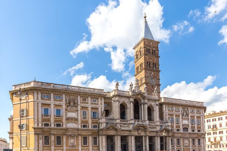 Basilica di Santa Maria Maggiore in Rome, Italy.