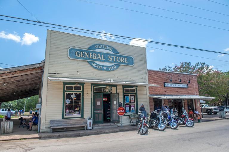 Gruene General Store, Gruene, Texas, Usa (Editorial Use Only)