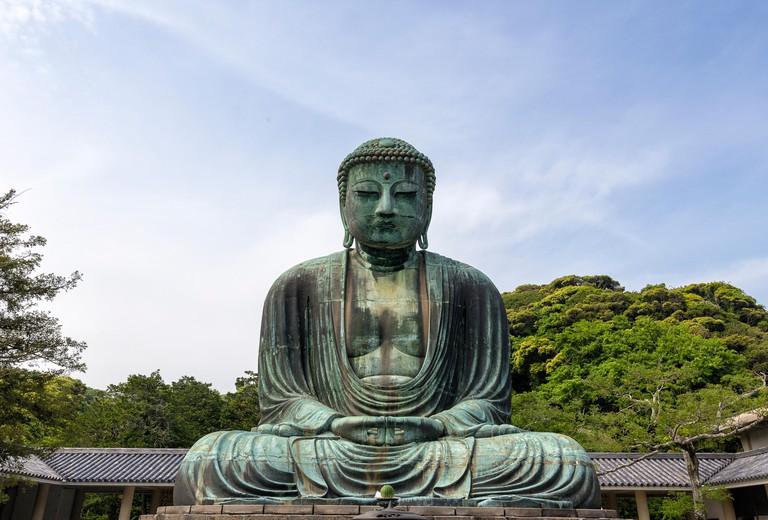 Statue of Buddha at Kamakura Japan