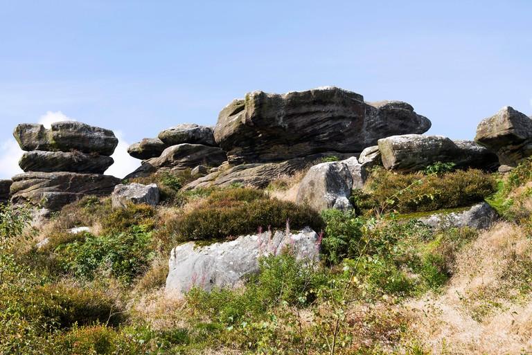 Balancing Rock Formations at Brimham Rocks