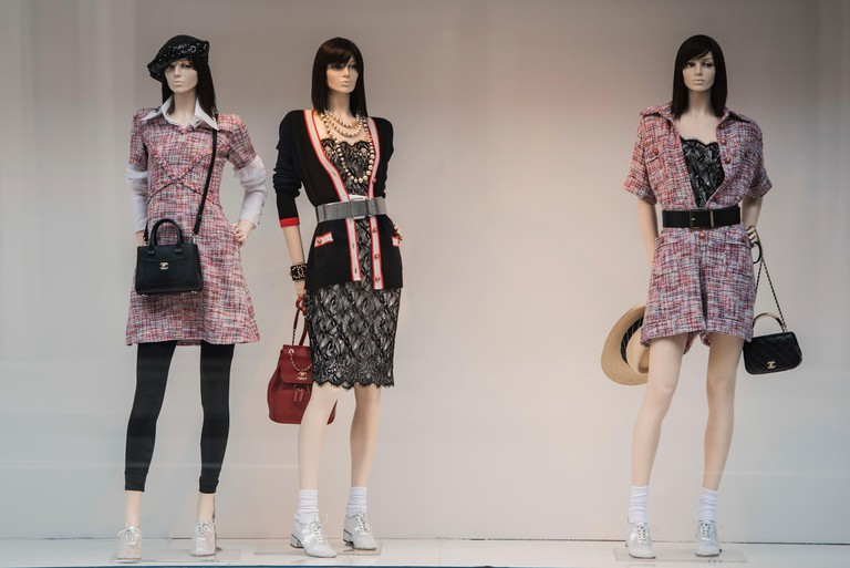 Storefront of Chanel