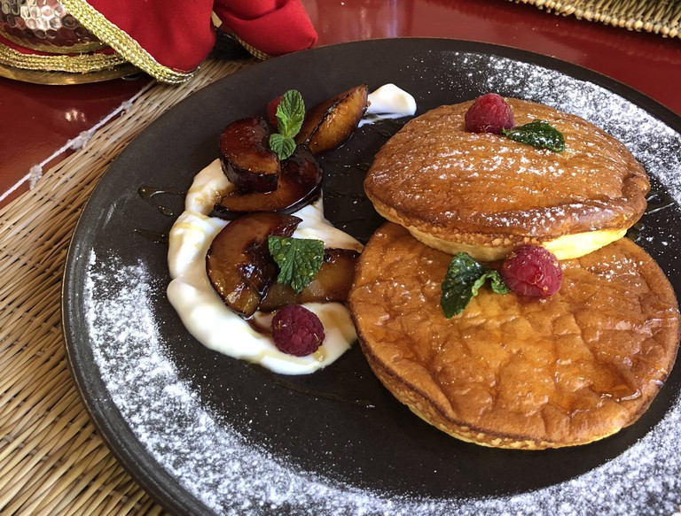 Le Kilim, located in the Gueliz neighbourhood, flips a mean pancake