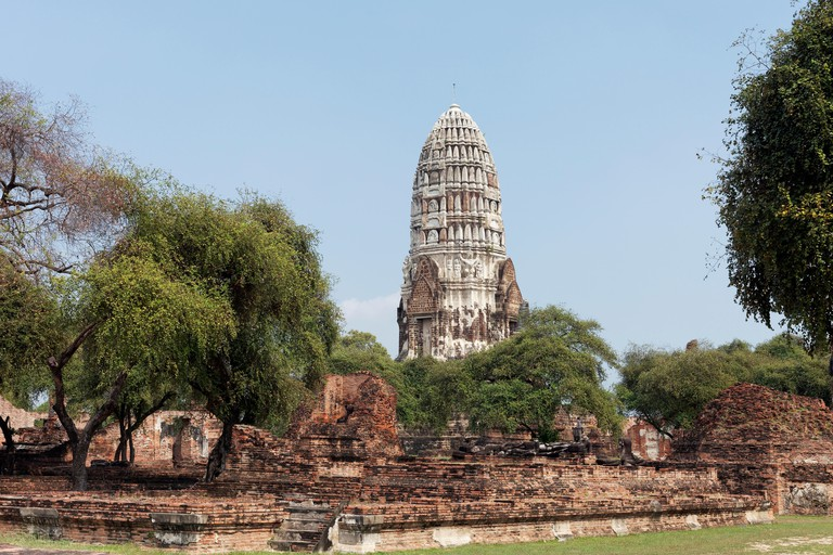 Chedi of Wat Phra Si Sanphet, Ayutthaya Historical Park, Ayutthaya, Thailand