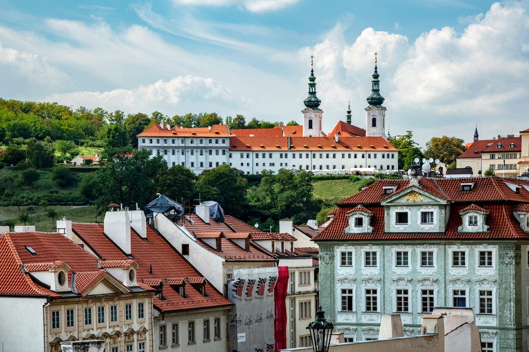 Strahov Monastery of the Premonstratensians was founded in the 12th century