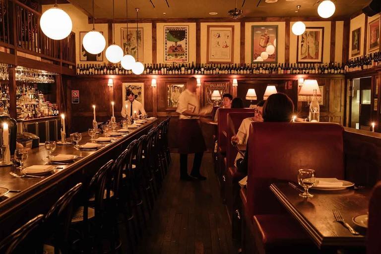 Restaurant Hubert interior © Daniel Boud