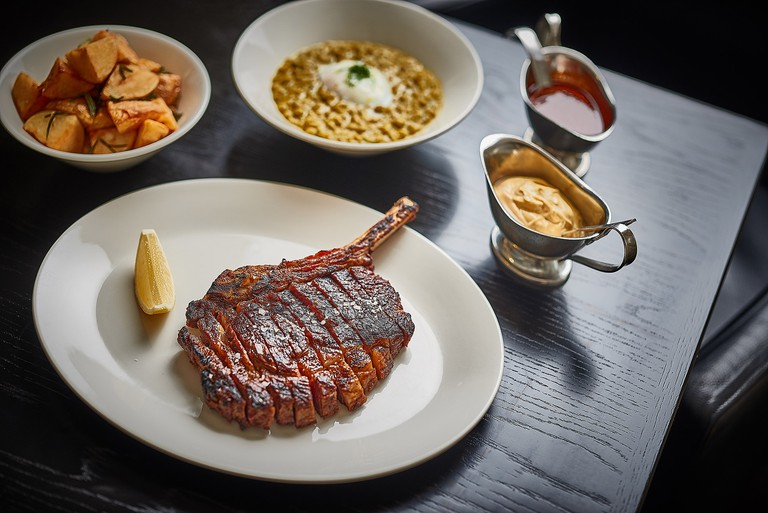 Steak and sides at Rockpool © David-Griffen _ Rockpool