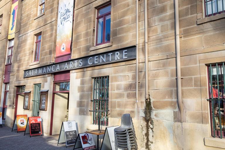 Salamanca arts centre in salamanca place, Hobart city centre,Tasmania.