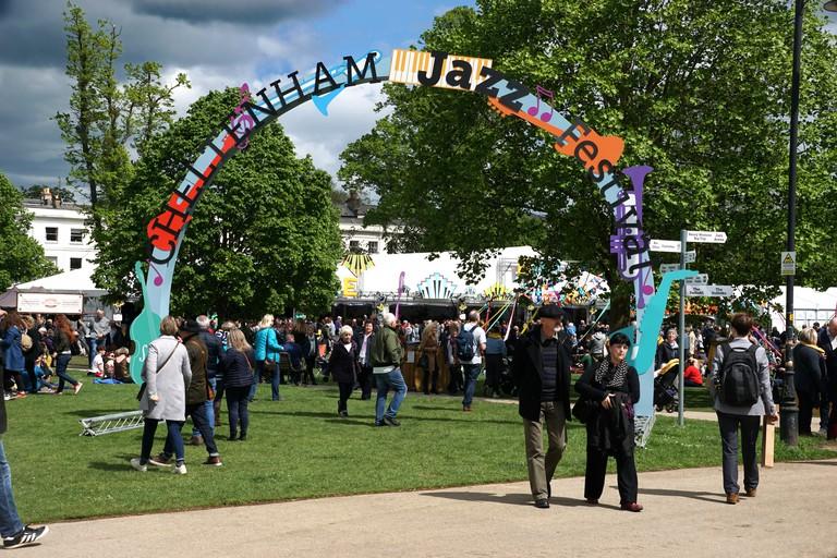 Jazz festival, Cheltenham