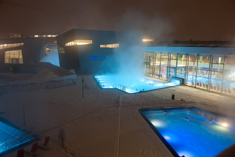 View of the Therme Wien