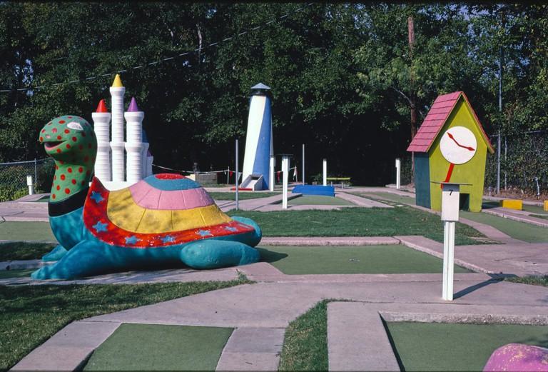 Peter Pan mini golf, Austin,