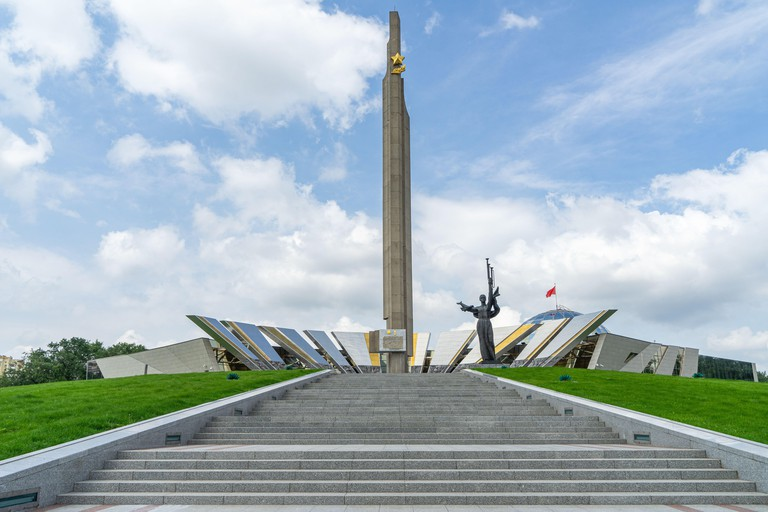 Hero City Stella at the Belarusian State Museum of the History of the Great Patriotic War
