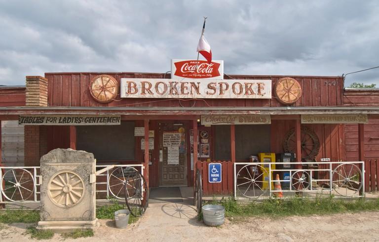 The Broken Spoke honky tonk bar saloon