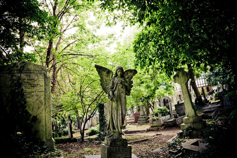 Highgate Cemetery North London England UK
