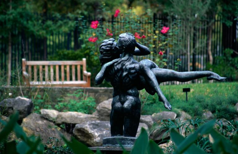 Umlauf Sculpture Garden, Austin, Texas, USA