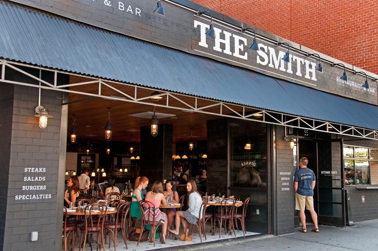 The Smith Restaurant, New York.