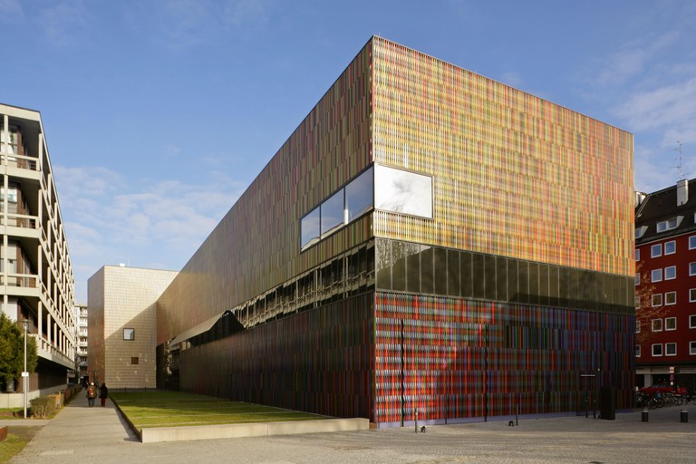 The Brandhorst Museum and modern art gallery, Munich, Germany.