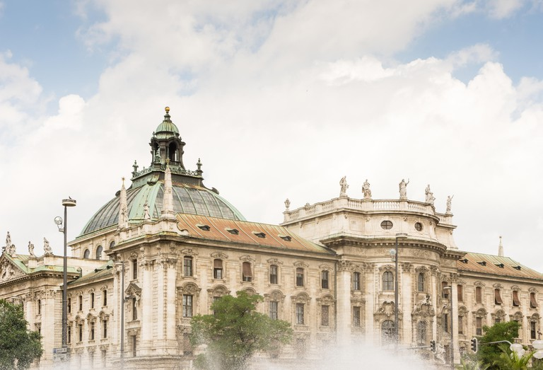The Palace of Justice (Justizpalast) in Munich (Bavaria, Germany)