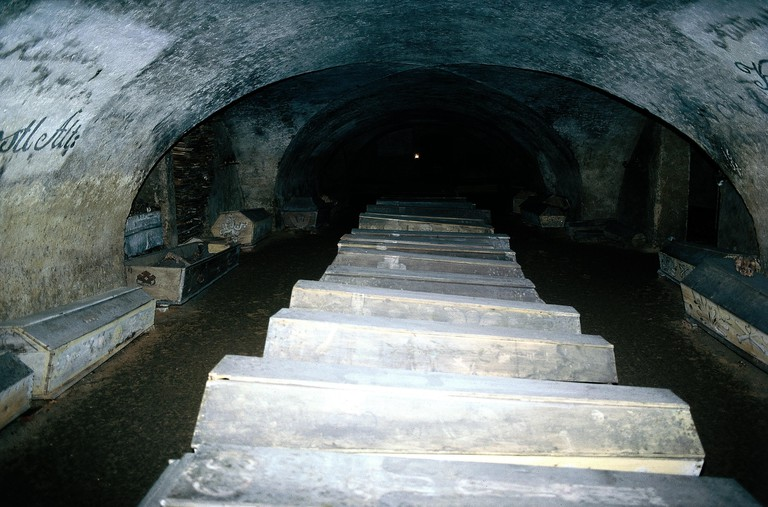 St. Michael's Church crypt, established: 1221