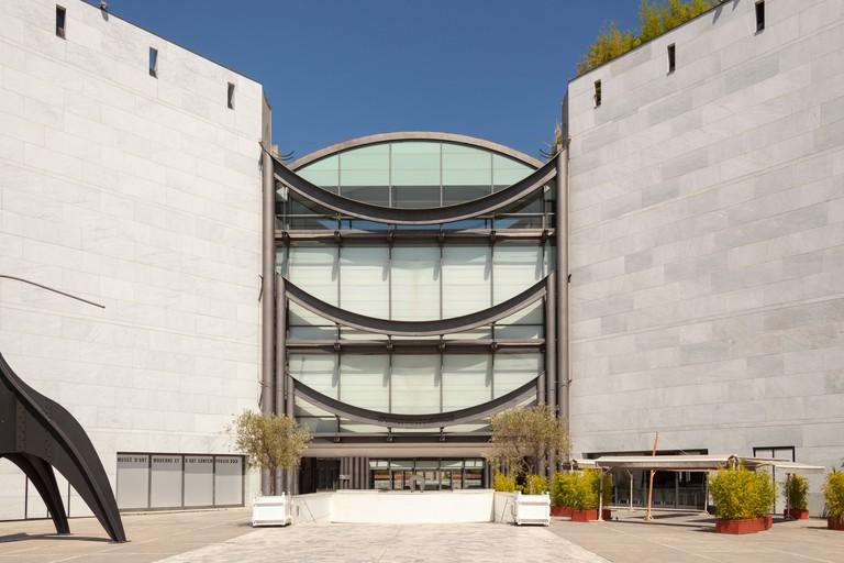 Museum of Modern and Contemporary Art, Musee D?Art Moderne Et D?Art Contemporain, Nice, France