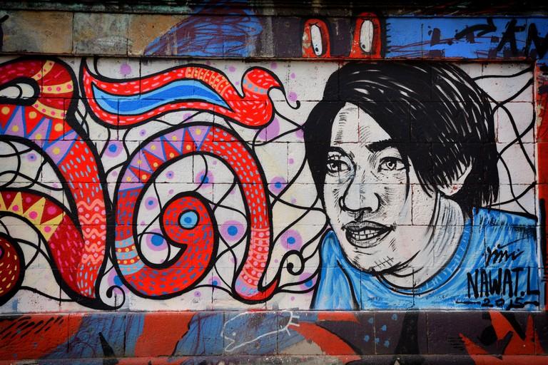 Street art at Donaukanal