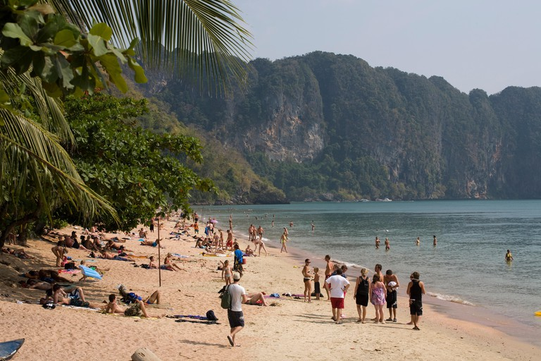 Beach of Ao Nang