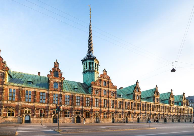Old Stock Exchange (Borsen) in Copenhagen, Denmark