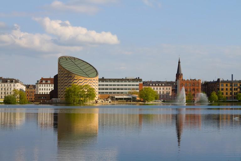 Tycho Brahe Planetarium in central Copenhagen