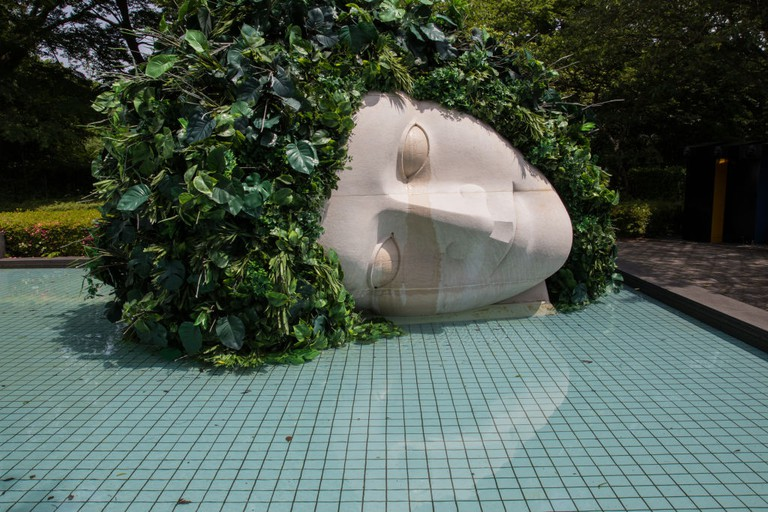 """La Pleureuse"" at Hakone Open Air Museum - the Museum"