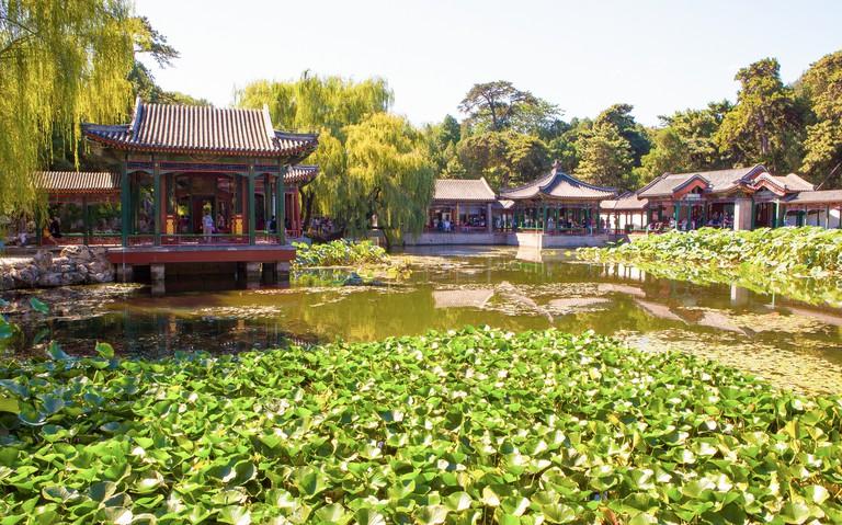 Summer Palace scene-Summer Palace scene-Xiequ Yuan(Garden of Harmonious Pleasures) scenery
