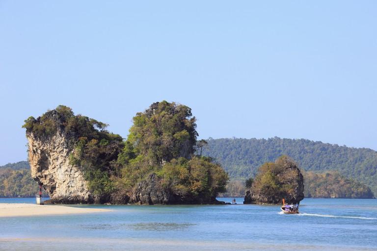 Thailand, Krabi, Ao Nang, Nopparat Thara Beach