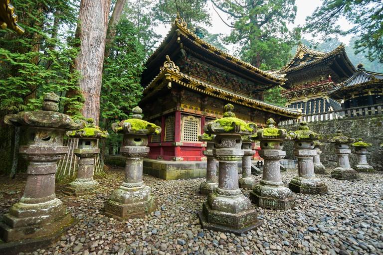 The Rinzo and Drum Tower of Toshogu Shrine, Nikko, Japan