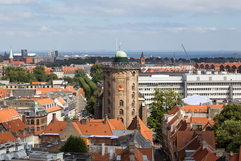 Round Tower in Copenhagen, Denmark