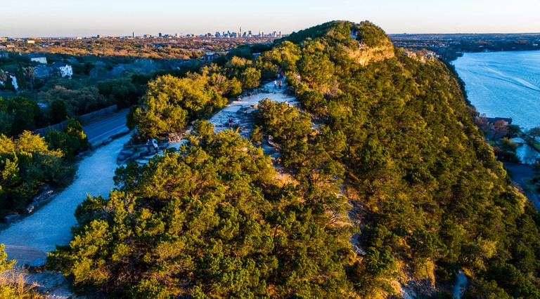 Mount Bonnell boasts some of the best views of the city.