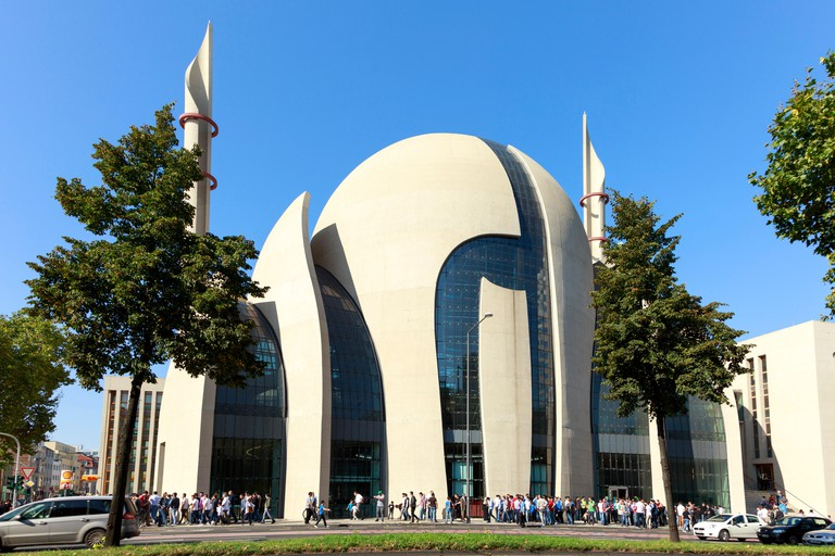 DITIB Central Mosque, Cologne, Germany