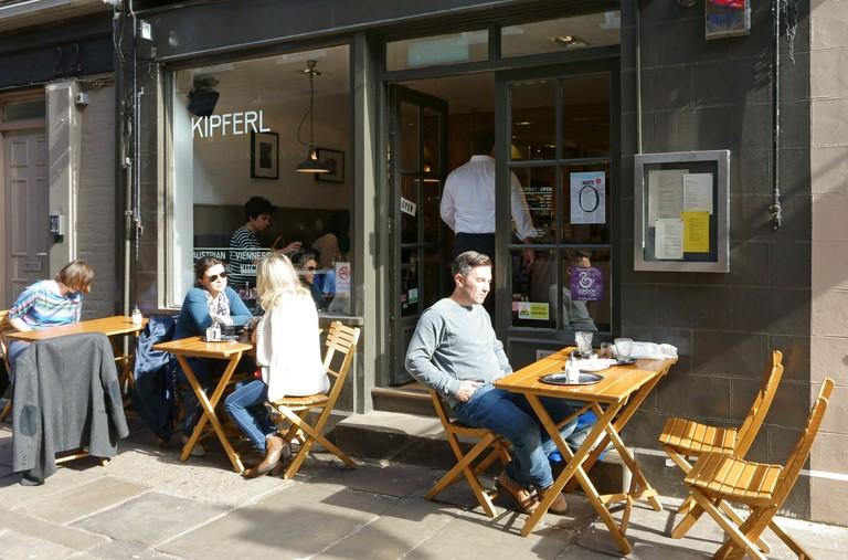 Kipferl Viennese coffee shop and restaurant, Islington, London