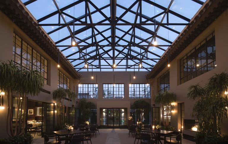 Interior of Le Georg Restaurant