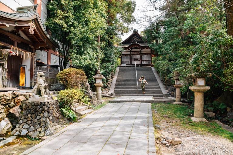 Ujigami shrine, Japan.