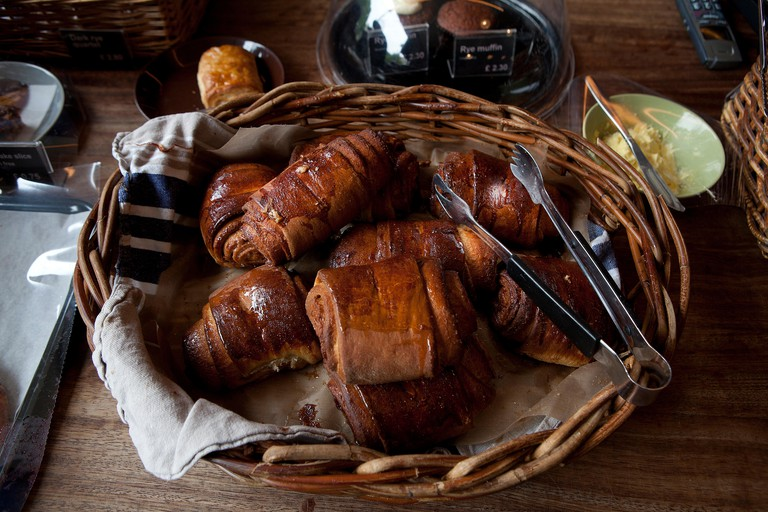 Nordic Bakery,London: cinnamon buns