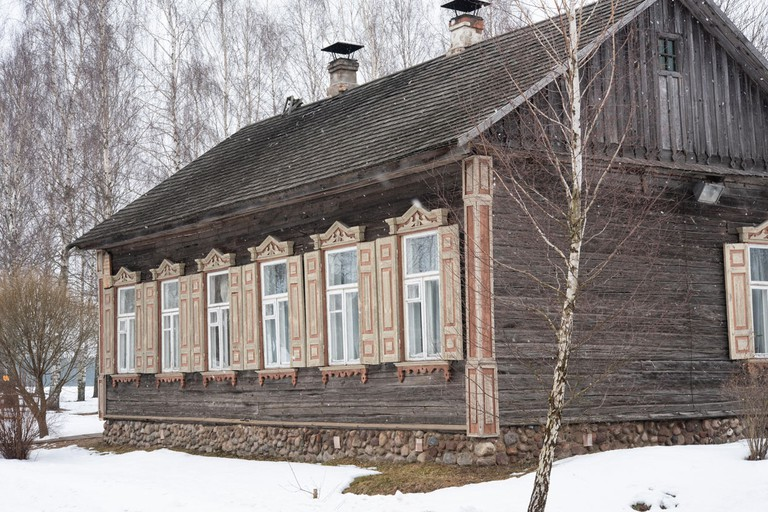 The Belarusian State Museum of Folk Architecture and Rural LifeThe Belarusian State Museum of Folk Architecture and Rural Life, Belarus.