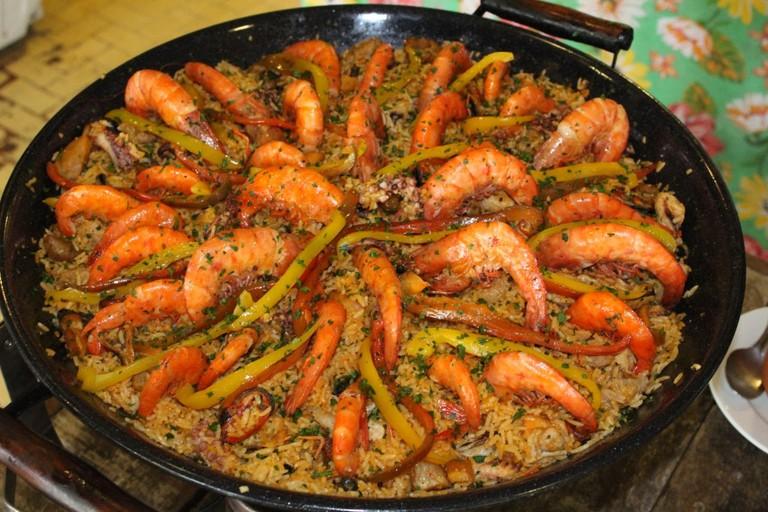 Restaurants - O Limoeiro4 - Sunday buffet of paella and feijoada
