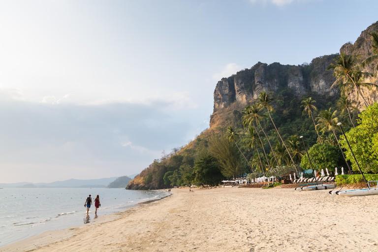 Pai Plong beach in Krabi province