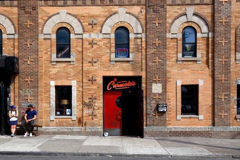 Carmelo's, 1544 Dekalb Avenue, Brooklyn, NY. Image shot 06/2019. Exact date unknown.