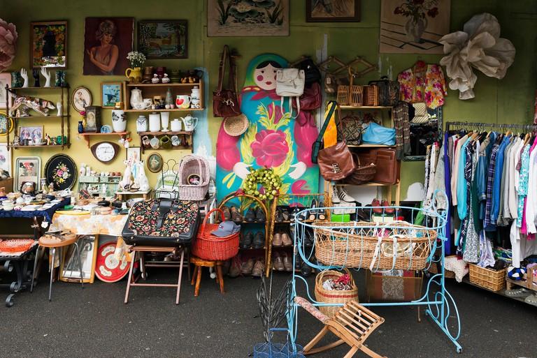 The Puces de Saint-Ouen is the largest antiques market in Europe.