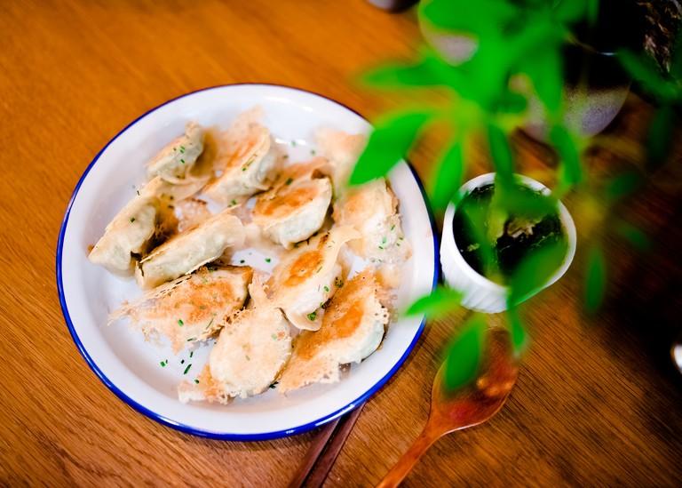 Dumplings at Lady Bao