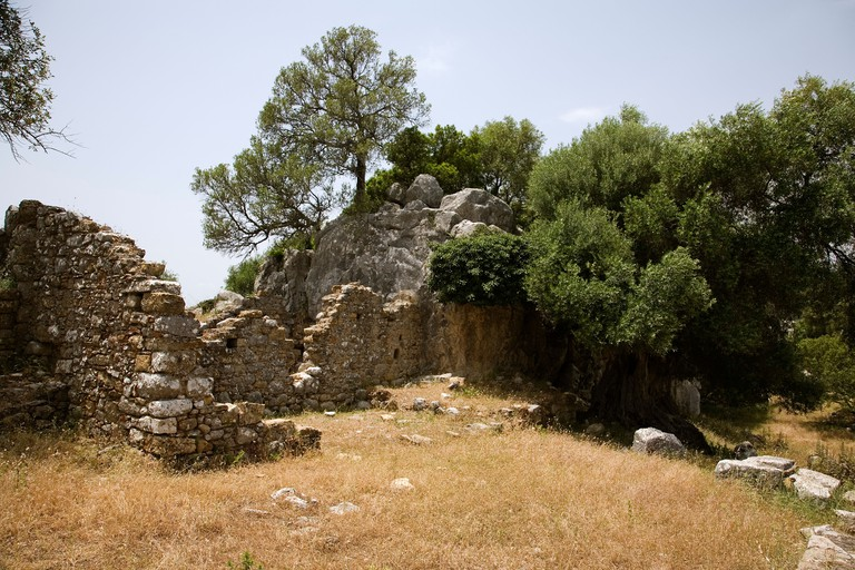Roman City of Ocuri, Andalusia, Spain.