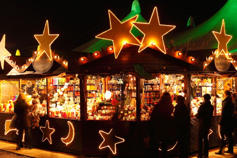 Tollwood Winter Festival, Theresienwiese, Munich