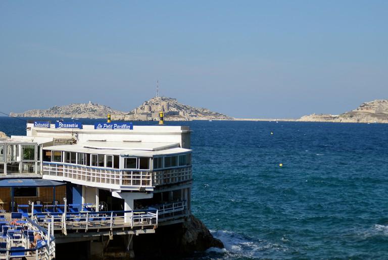 Le Petit Pavillon restaurant bar Marseille