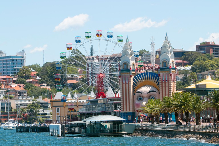 Luna Park at Milsons Point in Sydney